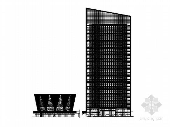 [四川]二十五层办公楼建筑施工图(含效果图 知名设计院)
