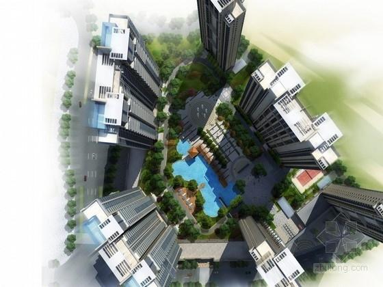 [安徽]现代风格住宅区规划方案文本