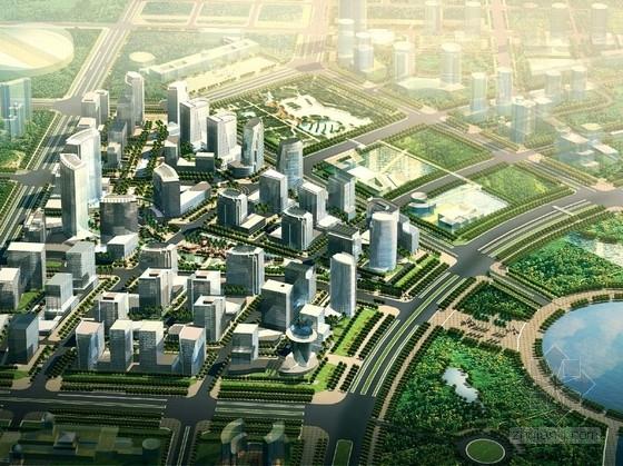 [深圳]现代风格商务办公区规划设计方案文本