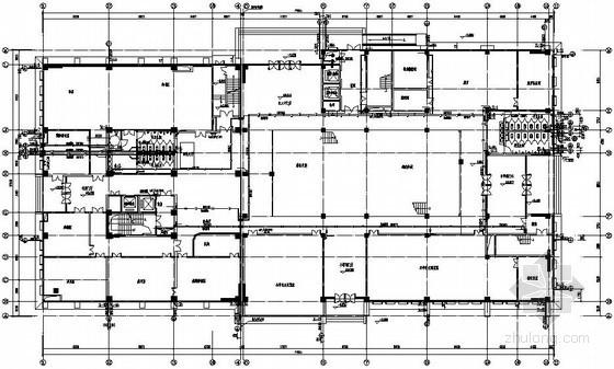 十层图书馆全套给排水施工图