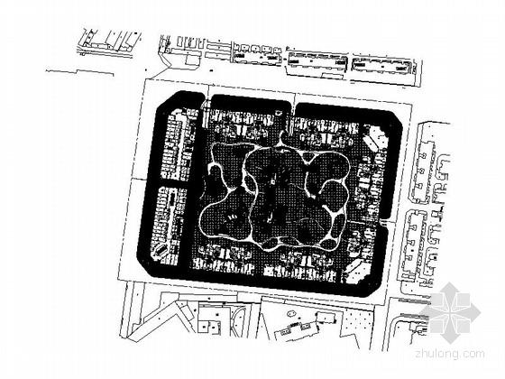 [成都]高档住宅小区景观规划设计施工图