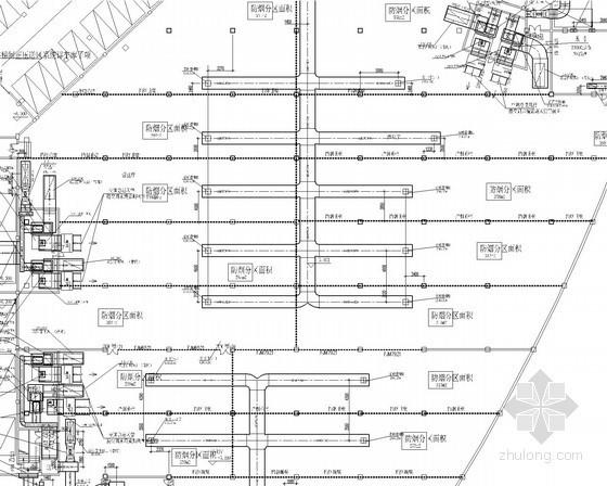[重庆]地下商场通风空调及防排烟系统设计施工图(含负荷计算)