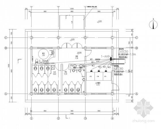 [河南]最新知名景区古建管理用房电气全套图(甲级设计院)