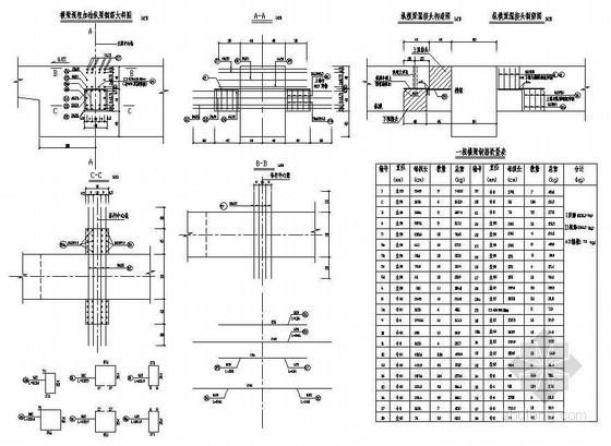 380m中承式系杆拱桥主桥标准立柱横梁钢筋节点详图设计