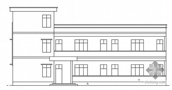 某三层小型教学楼建筑结构施工图
