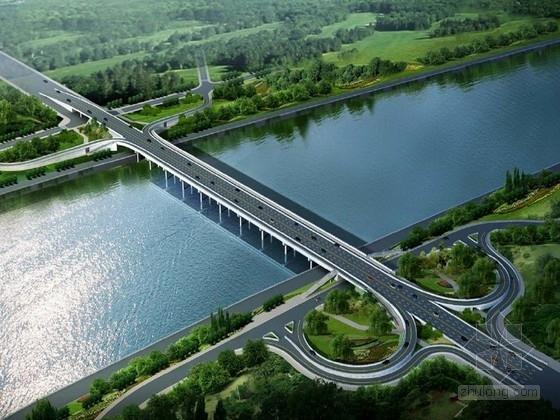 [四川]预应力连续箱梁大桥施工图设计48张(七联十九跨)