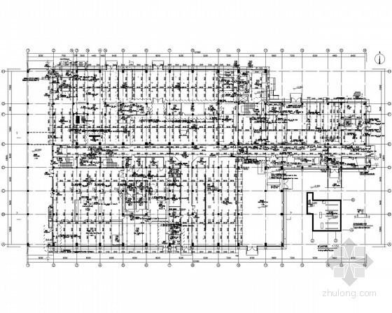 [上海]丙类工业厂房给排水施工图