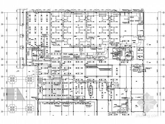 [广西]博物馆空调通风设计施工图(大院图纸)