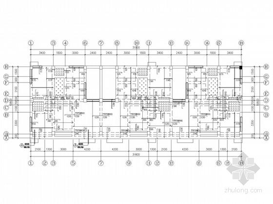 底框抗震墙私人住宅结构施工图