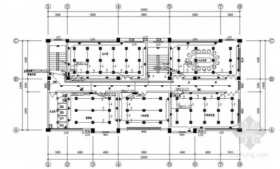 某工业厂区电气施工图-