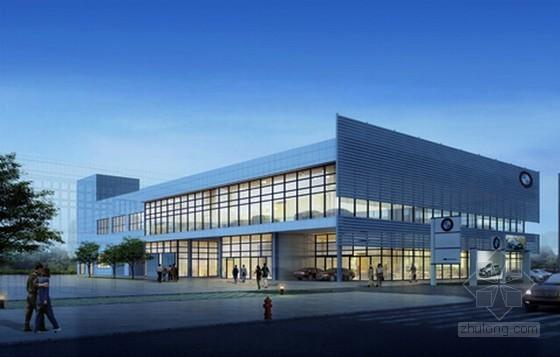 [福建]2014年汽车4S店建筑工程预算书