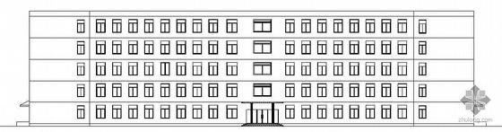 [沈阳]某五层办公楼建筑结构施工图(毕业设计)