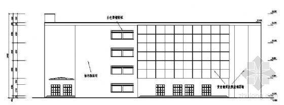 某城市中型商场结构设计图纸