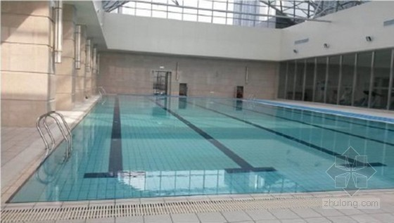 [QC成果]室内游泳池卷材基层瓷砖粘贴的质量控制