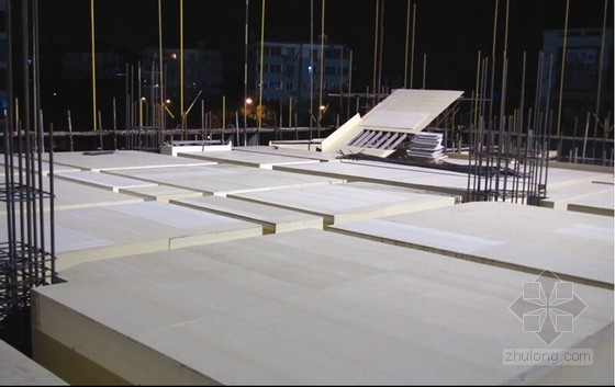 商业楼主体结构塑料模板施工新技术应用总结