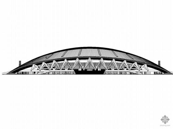 [金华]某体育中心建筑施工图(带节能设计)