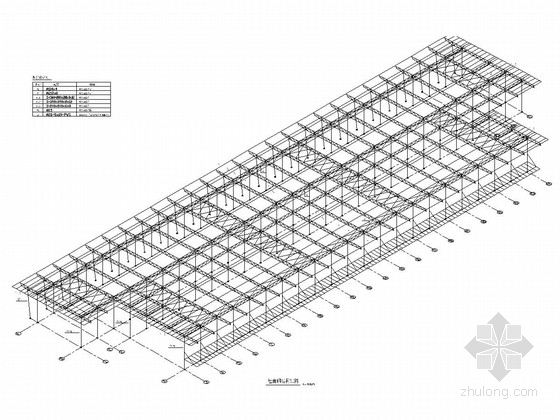 [浙江]机场航站楼钢桁架屋面钢结构施工图