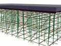 [湖南]框架结构航站楼模板支撑施工方案(定型圆钢模)