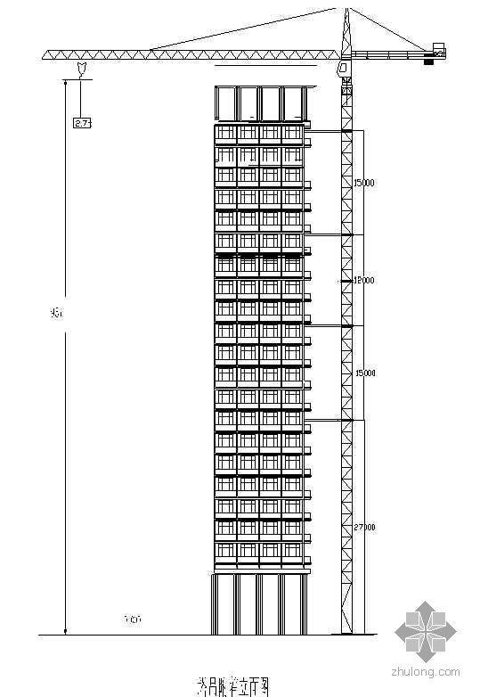 某高层住宅区QTZ80塔吊拆除专家论证专项方案