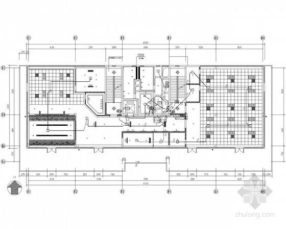 [河北]高新技术产业园办公楼装修工程强弱电施工图(新照明)