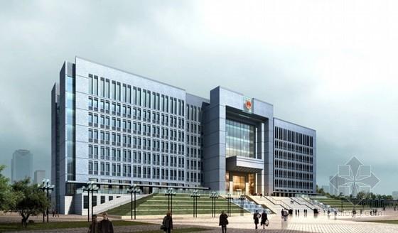 [江苏]时代标志性行政办公建筑设计方案文本-时代标志性行政办公建筑效果图