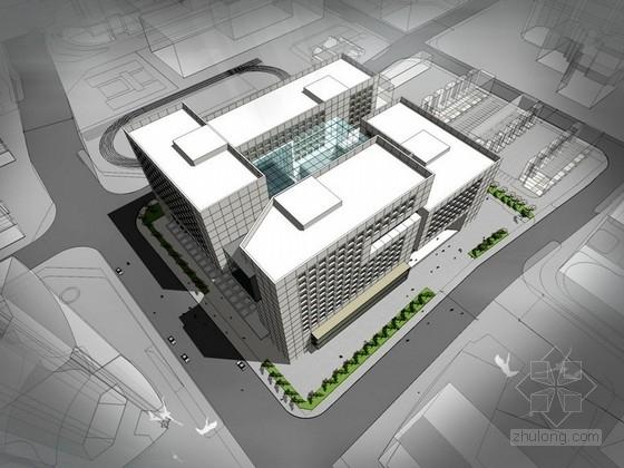 [北京] 15层现代风格办公楼建筑方案文本(国内知名设计师设计)