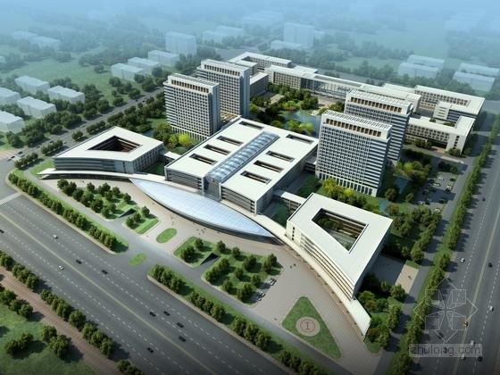 [安徽]现代风格大型医学园区规划及单体设计方案文本(含cad,多媒体文件)