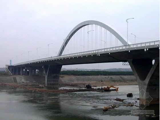 II型双块式资料下载-Y腿系杆拱桥(50m+120m+50m)施工图(82张,中铁)