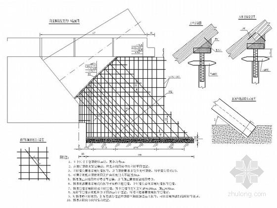 120米跨径中承式异型钢管拱拱桥支架设计图(41张)