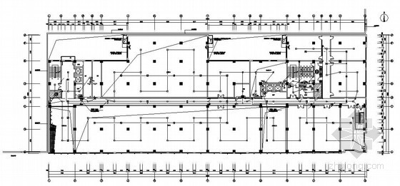 某工业园四层办公楼装修电气图纸