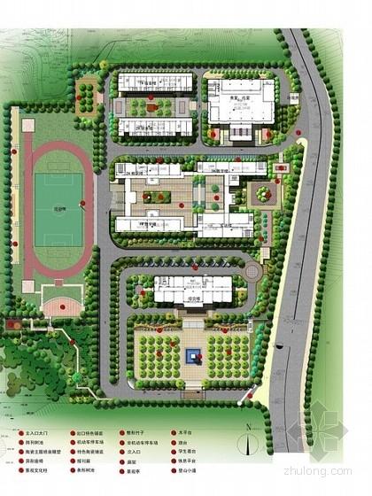 [宁德]职业院校校园景观设计方案(一)