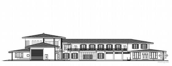 [邯郸]某二层汽车营地服务楼建筑施工图