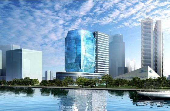 [上海]高层办公楼安全质量标准化工地创建汇报(鲁班奖 多图)