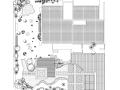 中式别墅CAD施工图(含景观庭院,室内布局,别墅立面,别墅su模型)