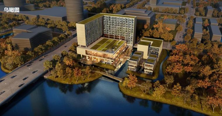 [浙江]高层现代风格L型单廊式酒店建筑设计方案文本