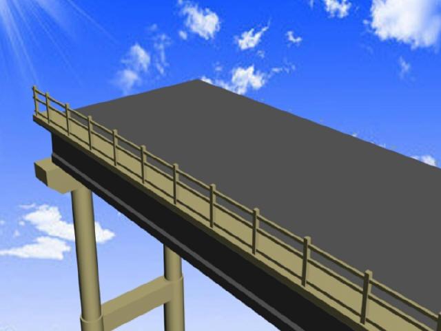 [江苏]变截面肋梁桥分块切割拆除及30米简T梁桥架桥机吊装拆除三维动画演示(5分钟)