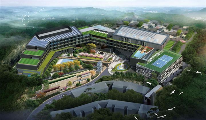 """[江苏]""""高雅隐逸""""度假山庄五星级酒店景观方案设计"""