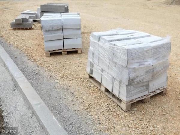市政道路工程路缘石技术交底