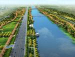 [山东]某市滨河景观规划设计方案
