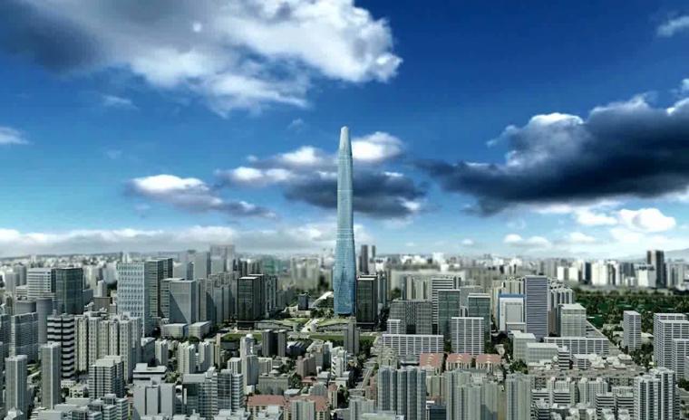 天津周大福金融中心工程BIM技术的应用