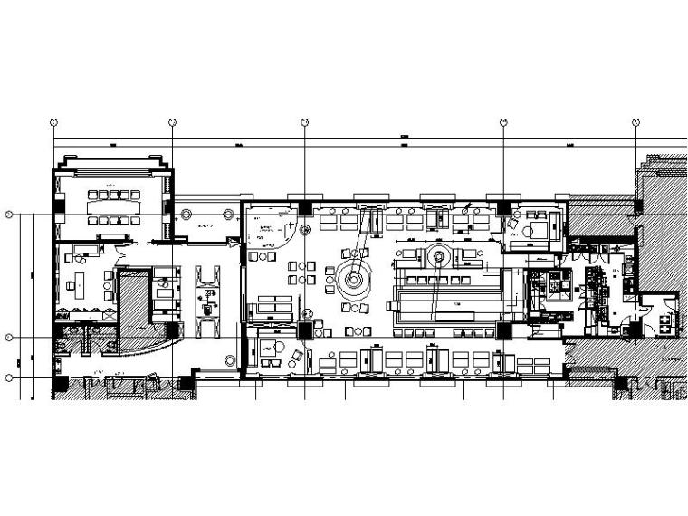 [海口]特色复古浪漫优雅酒吧室内设计施工图(含效果图)