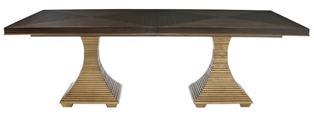 「餐桌品牌.Bernhardt」-燕尔臻邸--深圳鲸山觐海复式软装设计第10张图片