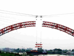 装配式钢管混凝土系杆拱桥劲性骨架施工