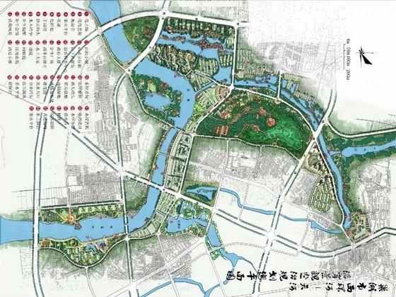 [巢湖]生态灵动的滨河景观规划设计方案