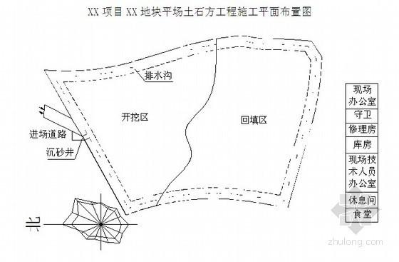 [重庆]平场土石方工程施工组织设计