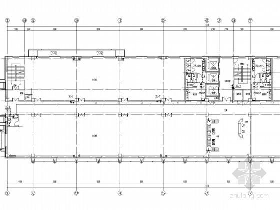 [河北]住宅小区及地下车库给排水消防施工图