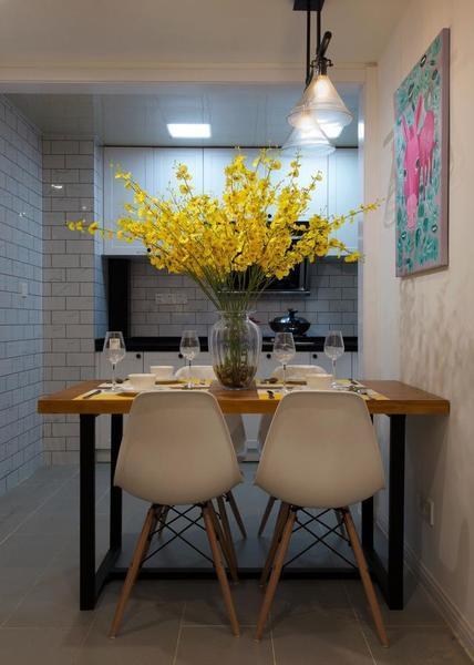 54平米小户型两室一厅现代简约风格老房翻新装修_3