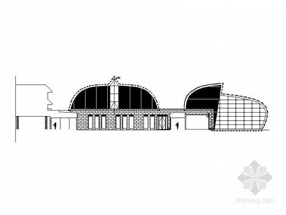 [内蒙古]3层现代风格宾馆设计施工图(知名建筑设计院)