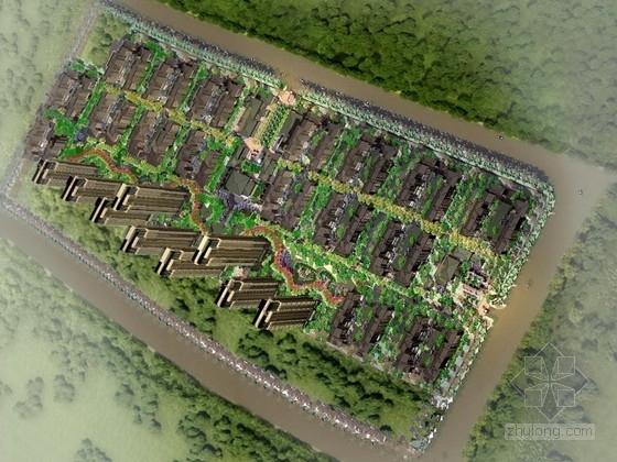 [天津]禅意亚洲风情花园洋房住宅区景观设计方案(独家原创)