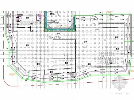 [江苏]双排桩结合土钉墙基坑支护施工图(三轴深搅桩止水)